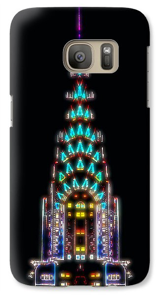 Neon Spires Galaxy S7 Case by Az Jackson
