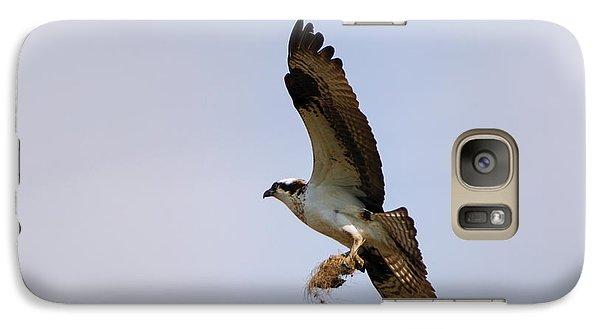 Osprey Galaxy S7 Case - Nest Builder by Mike  Dawson