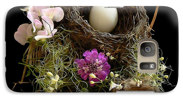 Galaxy Case featuring the photograph Nest Egg by Barbara St Jean