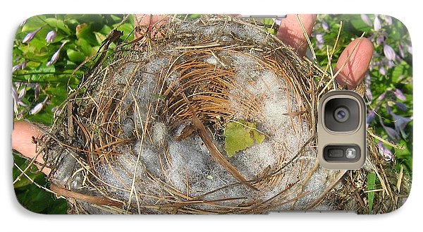 Galaxy Case featuring the photograph A Nest In Hand by Bruce Carpenter