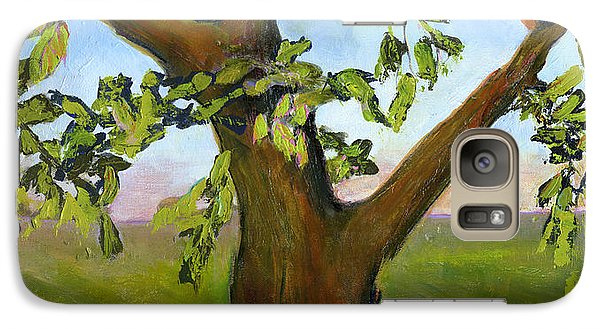 Nesting Tree Galaxy Case by Blenda Studio