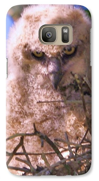 Galaxy Case featuring the photograph Nestling  by Kicking Bear  Productions