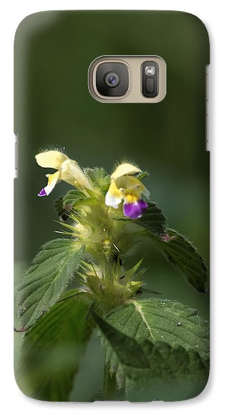 Galaxy Case featuring the photograph Nettle by Leif Sohlman