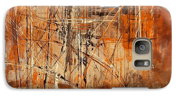 Galaxy Case featuring the painting Network by Buck Buchheister