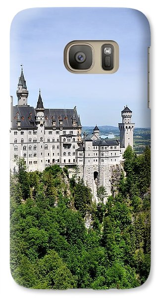 Galaxy Case featuring the photograph Neuschwanstein Castle by Rick Frost