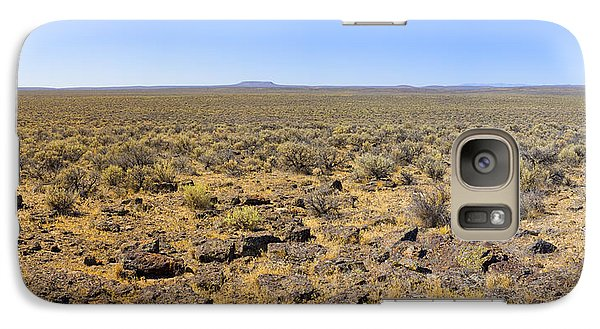 Galaxy Case featuring the photograph Nevada Desert Panorama by Mark Greenberg
