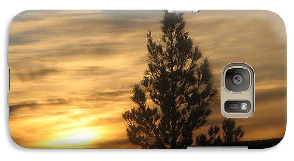 Galaxy Case featuring the photograph Nevada Sunset by John Glass