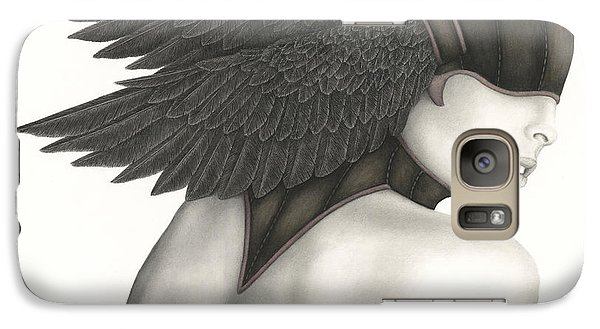 Galaxy Case featuring the painting Nevermore by Pat Erickson