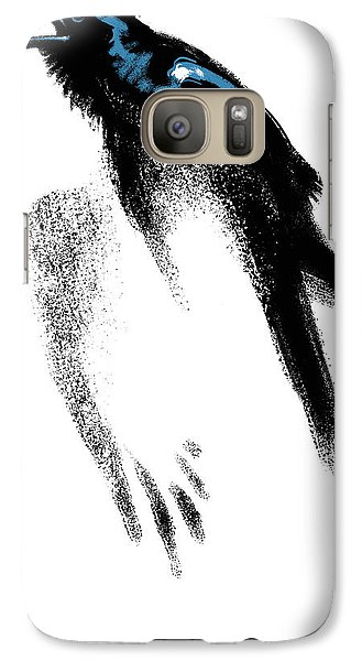 Galaxy Case featuring the digital art Nevermore  - Raven by Aaron Blaise