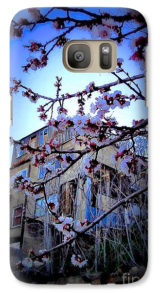 Galaxy Case featuring the photograph New And Old  by Sarah Mullin