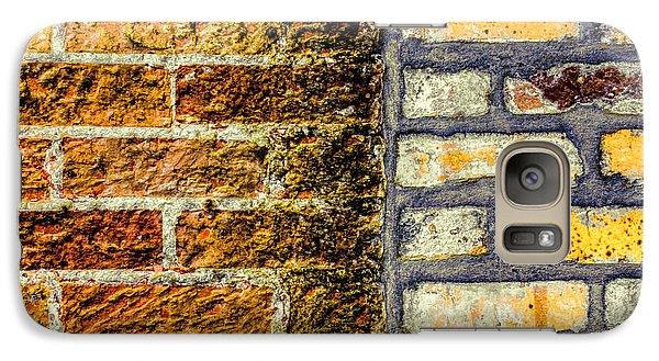 Galaxy Case featuring the photograph New Bricks Old Bricks by Lewis Mann