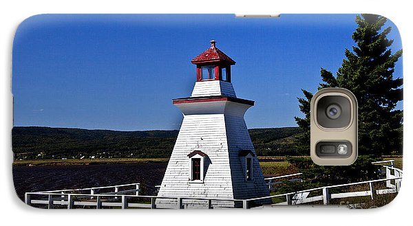 Galaxy Case featuring the photograph New Brunswick Lighthouse by Shirley Mangini