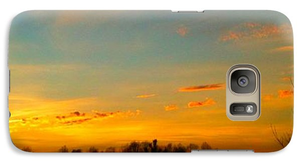 Galaxy Case featuring the photograph New Day by Linda Bailey