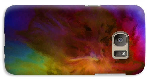Galaxy Case featuring the painting New Day by Steven Richardson