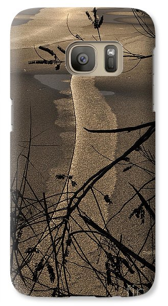Galaxy Case featuring the photograph New Directions by Simona Ghidini
