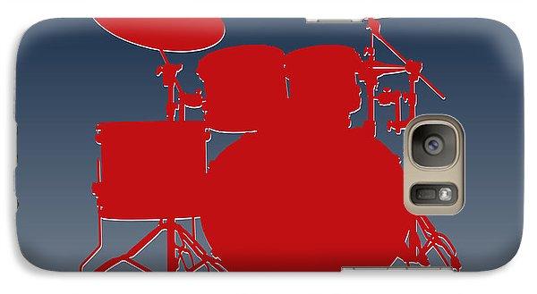 New England Patriots Drum Set Galaxy S7 Case by Joe Hamilton