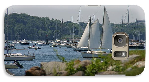 Galaxy Case featuring the photograph New England Seascape by Denyse Duhaime