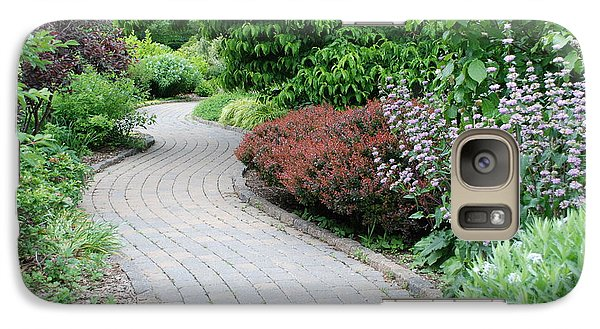 Galaxy Case featuring the photograph Frelinghuysen Arboretum Path by Richard Bryce and Family