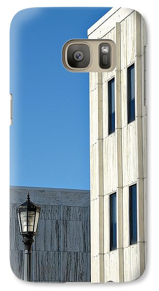 Galaxy Case featuring the photograph New Jersey State Library And Museum by Steven Richman