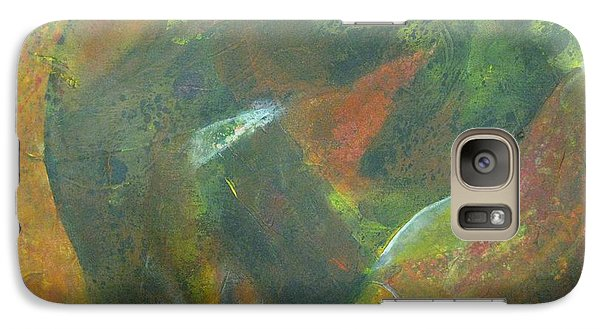 Galaxy Case featuring the painting New Life  by Riana Van Staden