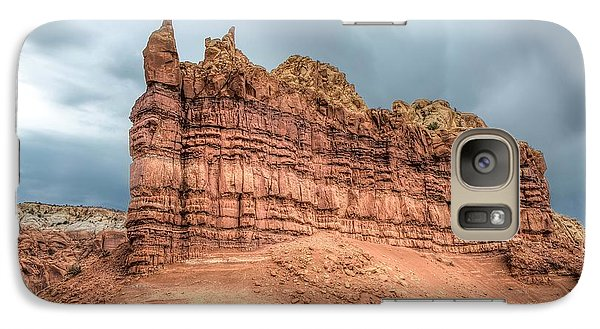 Galaxy Case featuring the photograph New Mexico by Anna Rumiantseva