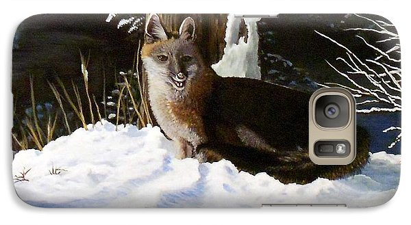 Galaxy Case featuring the painting New Mexico Swift Fox by Sheri Keith