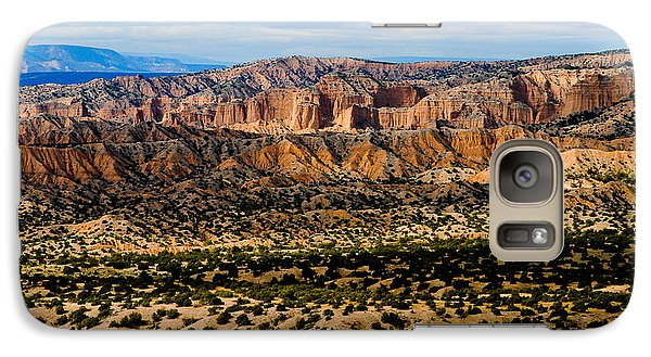 Galaxy Case featuring the photograph New Mexico View by Atom Crawford