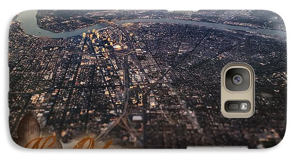 Galaxy Case featuring the photograph New Orleans Aerial View by Anthony Citro