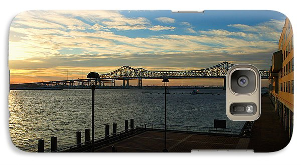 Galaxy Case featuring the photograph New Orleans Bridge by Erika Weber