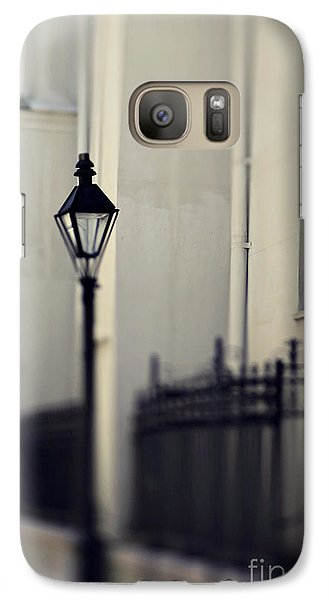 Galaxy Case featuring the photograph New Orleans Cathedral Street Lamp by Heather Green