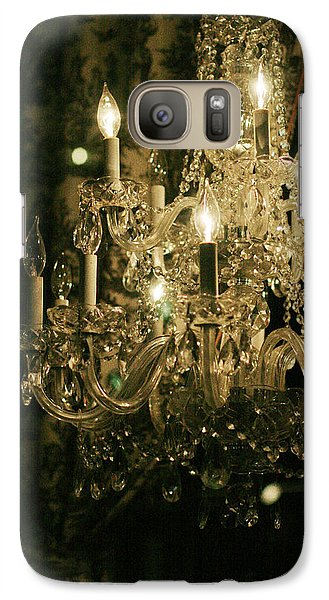 Galaxy Case featuring the photograph New Orleans Chandelier by Heather Green