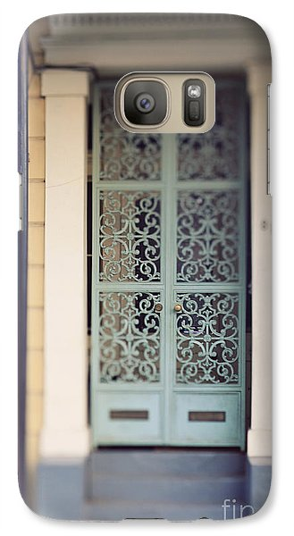 Galaxy Case featuring the photograph New Orleans Door by Heather Green