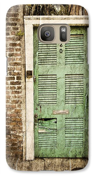 Galaxy Case featuring the photograph New Orleans Doorway by Ray Devlin