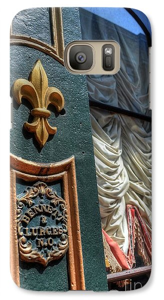 Galaxy Case featuring the photograph New Orleans Fleur-de-lis by Timothy Lowry