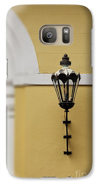 Galaxy Case featuring the photograph New Orleans Lantern by Heather Green