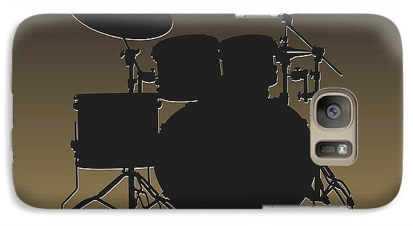 New Orleans Saints Drum Set Galaxy S7 Case by Joe Hamilton