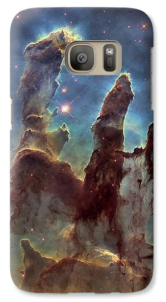 New Pillars Of Creation Hd Tall Galaxy S7 Case