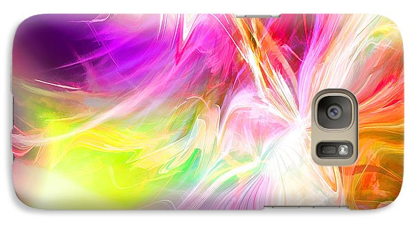 Galaxy Case featuring the digital art New Thing by Margie Chapman
