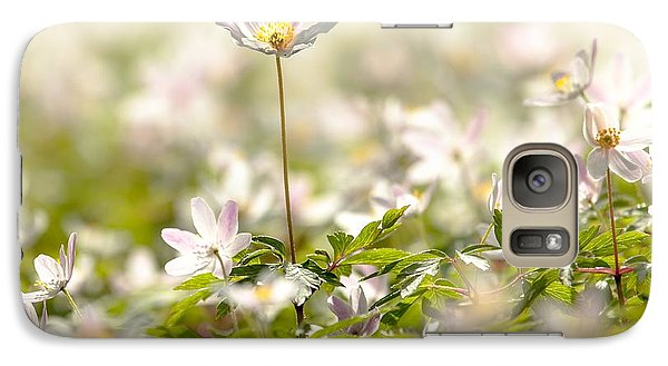 Galaxy Case featuring the photograph New Time Springtime by Rose-Maries Pictures