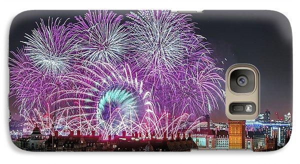 New Year Fireworks Galaxy S7 Case by Stewart Marsden