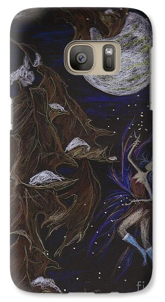 Galaxy Case featuring the drawing New Years Eve by Dawn Fairies