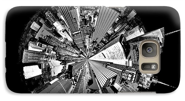 Empire State Building Galaxy S7 Case - New York 2 Circagraph by Az Jackson