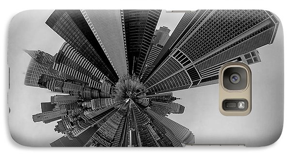 Empire State Building Galaxy S7 Case - New York Circagraph 5 by Az Jackson