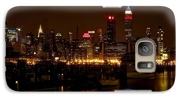 Galaxy Case featuring the photograph New York City by Dave Files