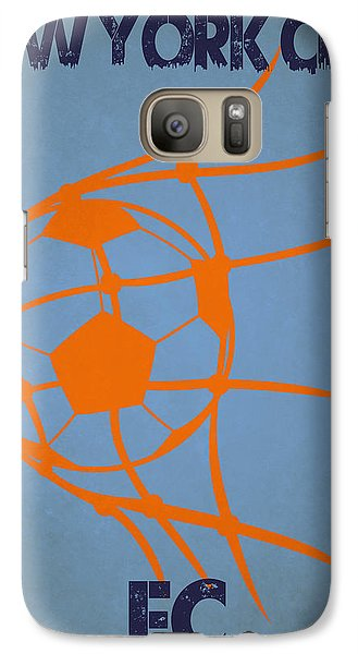 New York City Fc Goal Galaxy Case by Joe Hamilton