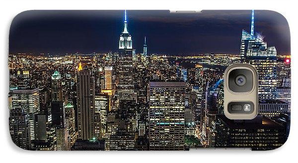 Brooklyn Bridge Galaxy S7 Case - New York City by Larry Marshall