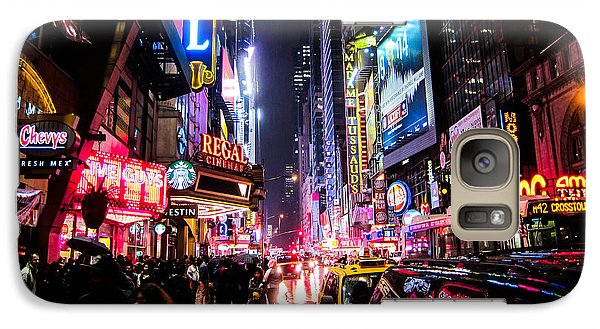 New York City Night Galaxy Case by Nicklas Gustafsson