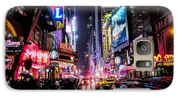 New York City Night Galaxy S7 Case by Nicklas Gustafsson