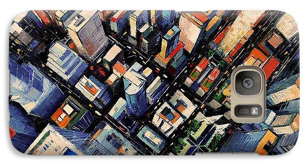 New York City Sky View Galaxy S7 Case