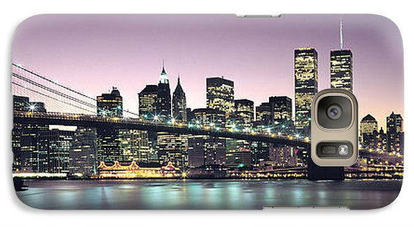 New York City Skyline Galaxy S7 Case by Jon Neidert